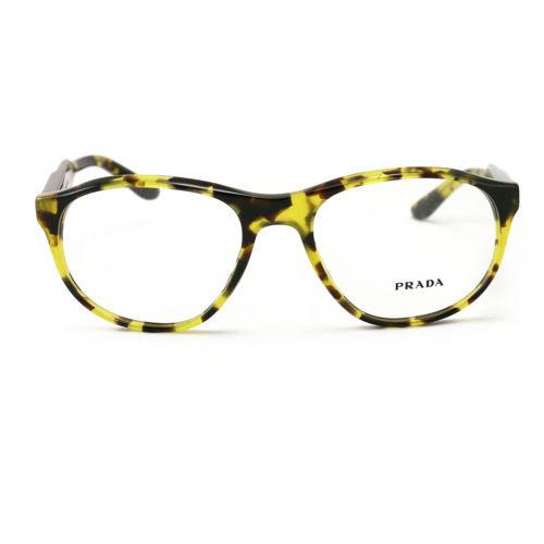 aac61f6950 Prada Eyeglasses VPR 12S UBL 1O1 Yellow Havana 54 18 145 Acetate -  68.00