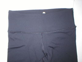 New NWT $80 Womens XS New 90 Degree Reflex Leggings Pants Yoga Black Crop Capris image 3