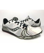 Saucony Women's Endorphin MD Cross Country Track Shoes Spikes 9.5 White ... - $19.17