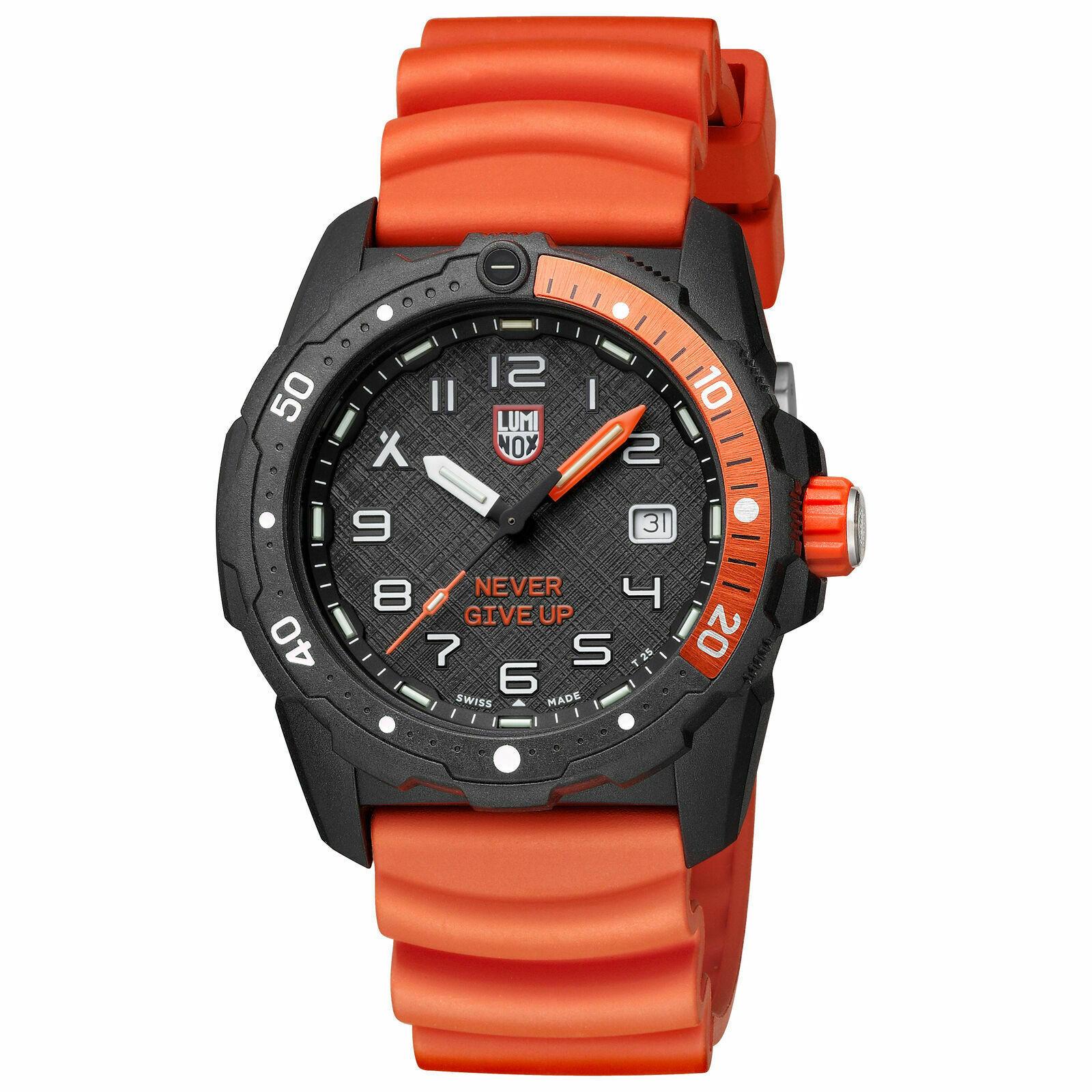 New Luminox XB.3729.NGU Bear Grylls Survival CARBONOX Grey 42 mm Quartz Watch