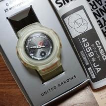 G-SHOCK 25th Anniv. United Arrows Collaboration Watch White Casio AWG-525UAJ-7A - $352.13