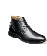 Florsheim Westside Plain Toe Chukka Boot Black Leather 13331-001 - $2.315,08 MXN