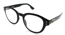 Christian Dior Eyeglasses Frames Dior CD2 807 46-22-145 Black Made in Italy - $196.00