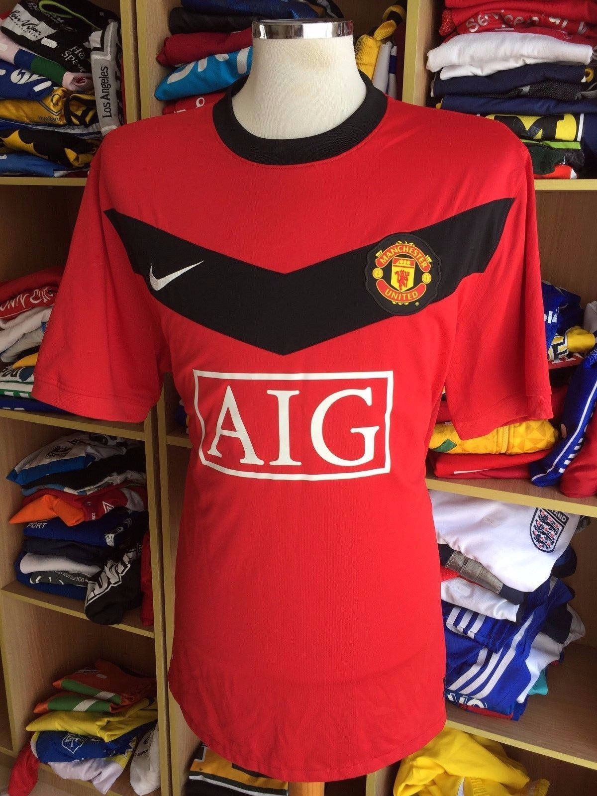 finest selection 1e127 1cea1 Jersey Manchester United 2009/10 (XXL) Home and 50 similar items