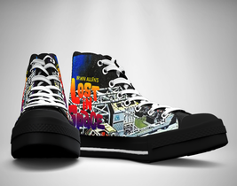 Lost in Space 70s tv show Canvas Sneakers Shoes - $29.99