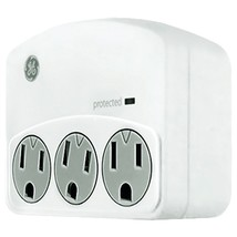 GE 35122 3-Outlet Surge-Protector Wall Tap - $25.79