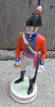 Volkstedt Figurine 1845 Officer of British Army Royal Lancers Germany Ge... - $25.00