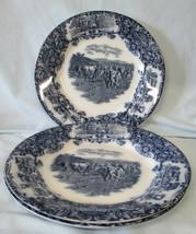 Wedgwood Flow Blue Cows Dinner Plate, set of 3 - $148.39