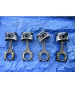97-01 Honda Prelude H22A4 VTEC pistons and rods H22 P5M set OEM 7440 - $149.99