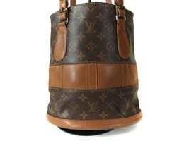 Auth Louis Vuitton Vintage Bucket Monogram Tote Bag Shoulder Bag Purse LS10310L - $198.00