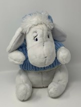 Plush White Eeyore Snowflake Pal Stuffed Animal Disney Store Exclusive 1... - $14.85