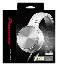 Pioneer Headphone SE-MJ722TW with microphone (White) - ₹4,786.41 INR