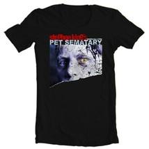 Pet Semetary t-shirt Stephen King retro 80s horror film movie Black Tee image 2