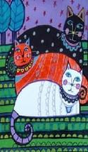 Cat Art Magnet #27 - $7.99