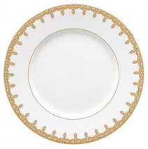 "Waterford Lismore Lace Gold Accent Salad Plate 9"" NEW - $34.90"