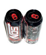 New 2 NOS Energy Rowdy Drink 16oz Full Cans NASCAR Cup Champion Kyle Bus... - $17.91