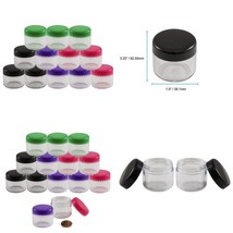 Houseables 20 Gram Jar, 20 Ml Jar, 12 Pcs, Bpa Free, Cosmetic Sample Emp... - $9.97