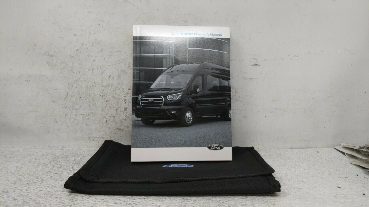 2020 Ford Transit-150 Owners Manual 110618 - $30.78