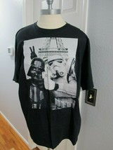 Darth Vader and Stormtrooper Selfie Men T-Shirt Black Cotton - Size 2xl - £9.54 GBP