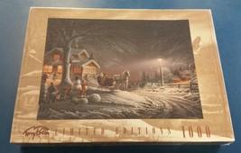 Terry Redlin Winter Wonderland 1000 Piece Jigsaw Puzzle Sealed Limited E... - $26.72