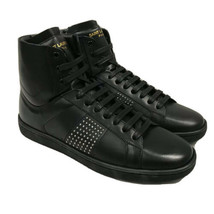 Y-1122120 New Saint Laurent Wolly Studs Hi-top Sneakers Shoes Size 5.5 35.5 - $250.84