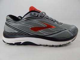 Brooks Dyad 9 Size US 9.5 M (D) EU 43 Men's Running Shoes Gray Red 1102311D035