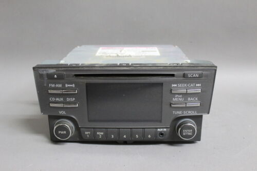 Primary image for 2013 2014 NISSAN SENTRA AM/FM RADIO CD PLAYER  281853RA2B OEM