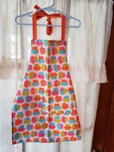 Child/Youth Lined Cotton Apron w/pockets - Cupcakes - Child Med (5T - 6T) - $12.99