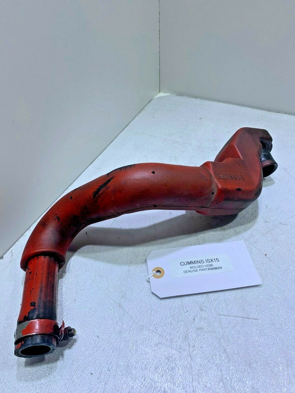 Cummins ISX15 Diesel Engine Molded Hose 3688609 OEM READY TO SHIP image 1