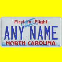1/43-1/5 scale custom license plate set any brand RC/model car - N Carol... - $11.00