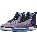 Nike Men's Alphadunk Basketball Shoes Black BQ5401-900 Purple Size 11.5 ... - $140.24+