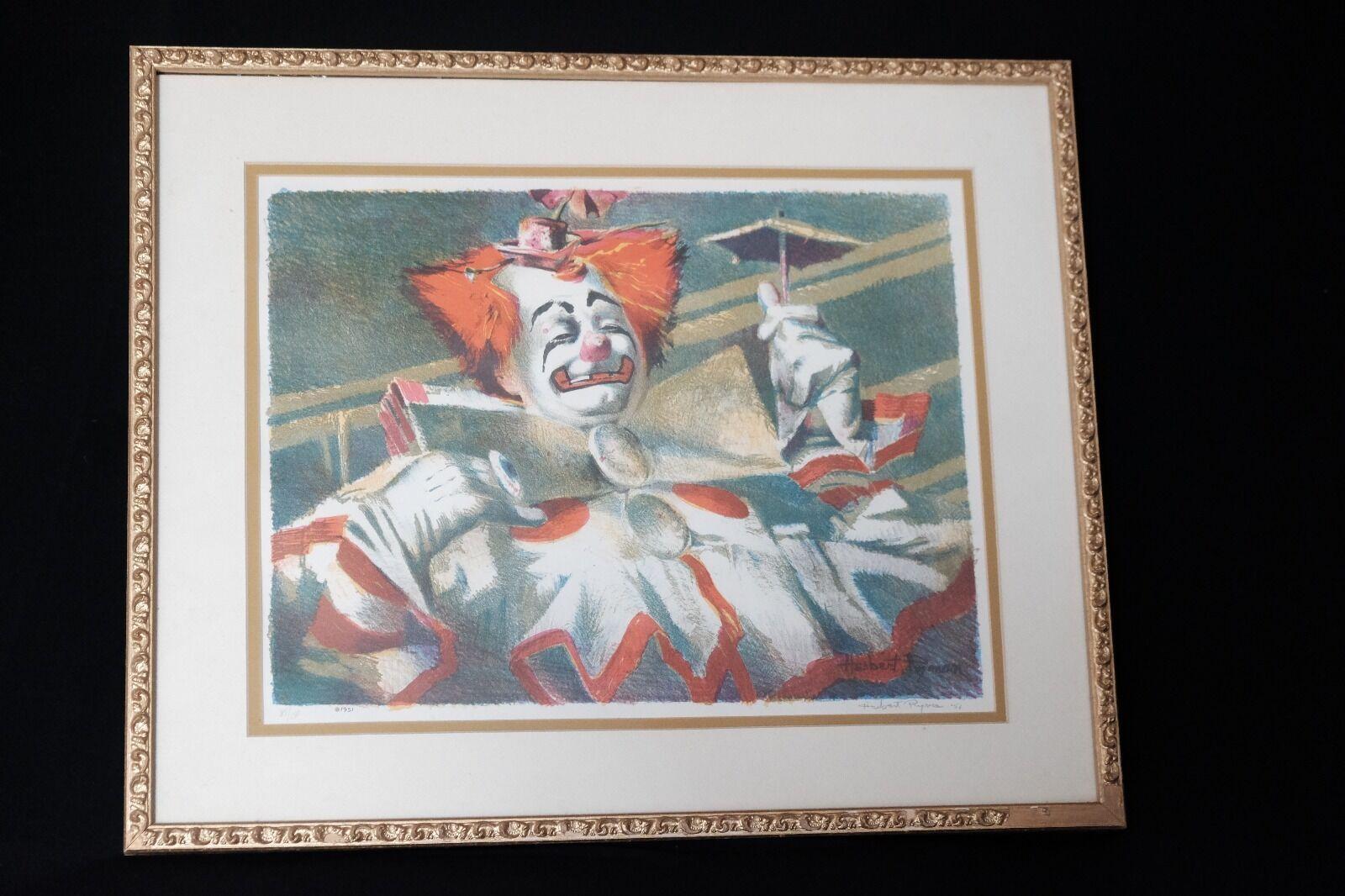 Disneyland Imagineer HERB RYMAN 1951 Signed Lithograph RARE Disney Legend - $924.84