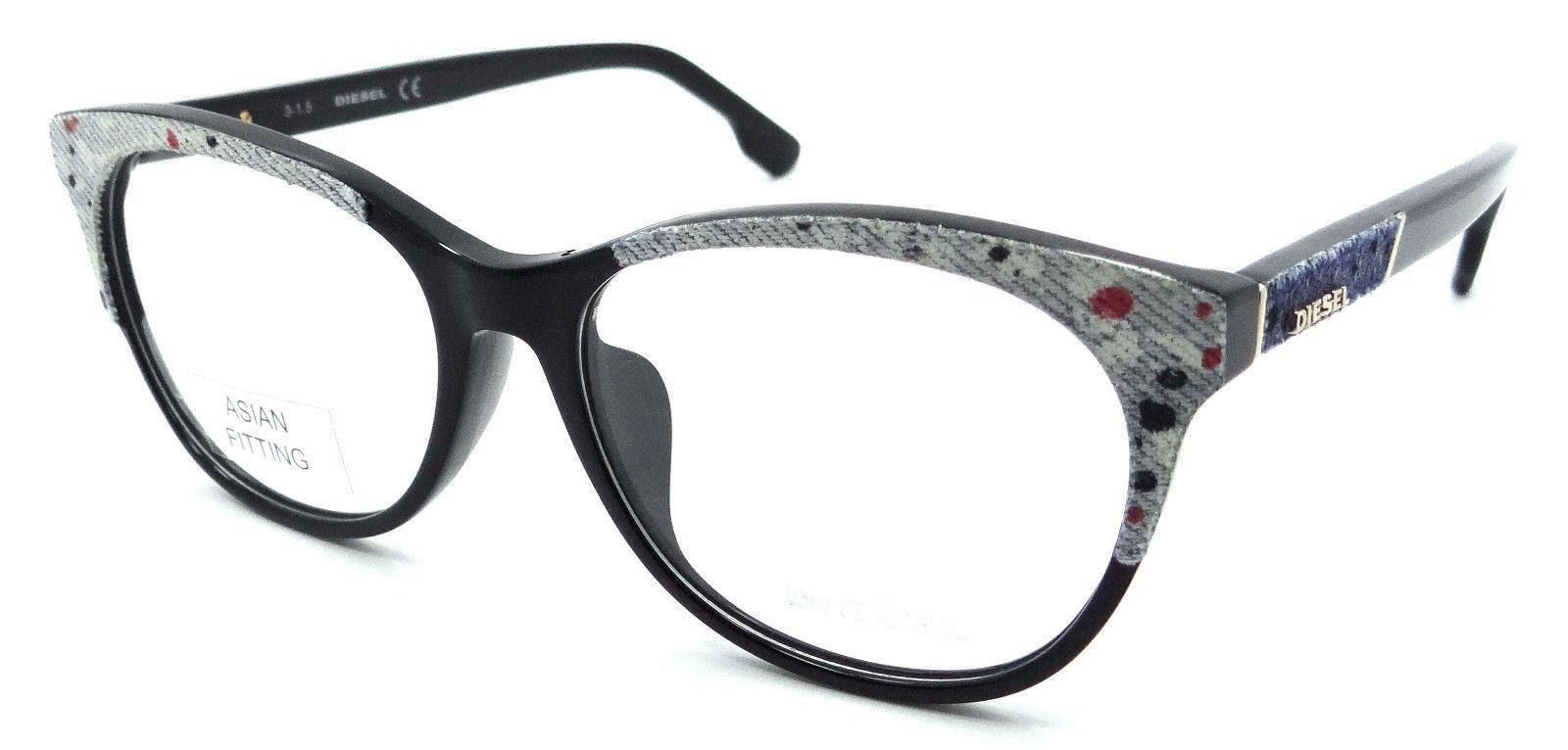 d1c9955091f0 Diesel Rx Eyeglasses Frames DL5155-F 005 and 50 similar items. 57