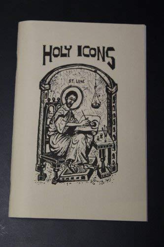 Holy Icons [Pamphlet]