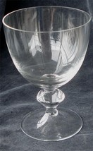 Nice Pressed Glass Footed Goblet, VG CONDITION - $9.89