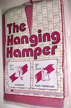The Hanging Hamper Vanguard Innovative Products Maroon  Pack of 1 New - $19.78