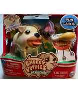 RARE Chubby Puppies & Pug Carlin Hard Plastic Spin Master Toy - $48.26