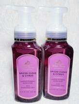 2 Bath & Body Works White Barn Spiced Clove & Citrus Foaming Hand Soap 8.75oz - $27.52