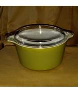 Pyrex Plain Green 1 quart Dish with Lid - $9.00