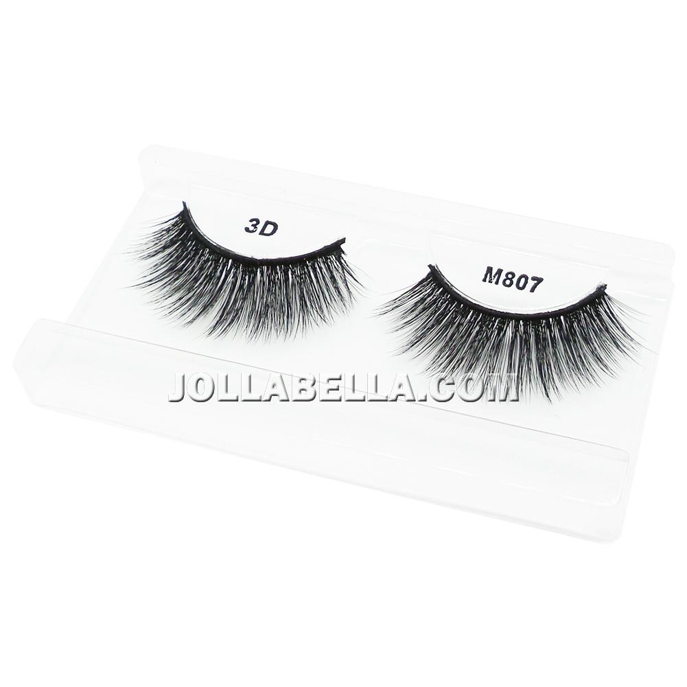 198f1b4fef8 Miss Lashes 3D Eyelashes False Silk Lash Volume Long Natural Eye Makeup  Curl 1PC