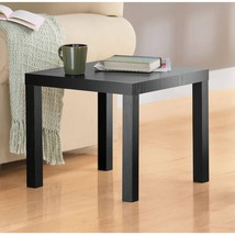 Wooden Side End Table Living Room Furniture Decor Contemporary Stand Bla... - $29.69