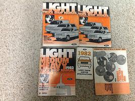 1982 Ford Truck Diesel Bronco F 100 150 350 ECONOLINE Service Shop Manua... - $178.29
