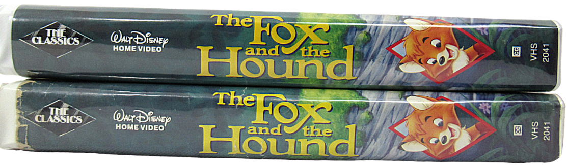Primary image for The Fox and the Hound Walt Disney's Classic VHS Black Diamond Edition (Lot of 2)