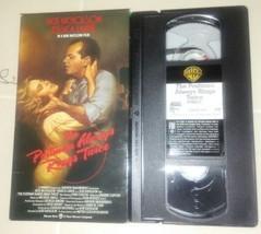 THE POSTMAN ALWAYS RINGS TWICE  VHS ORIGINAL RELEASE JACK NICHOLSON  - $8.88