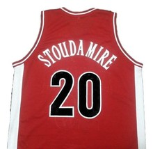 Damon Stoudamire College Basketball Jersey Sewn Red Any Size image 2