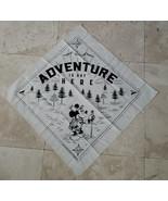Disney D23 Member 2020 Gift Fantastic Worlds Scarf Bandana Adventure Is ... - $9.89