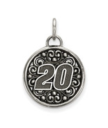 Stainless Steel Bali Type Round Pendant # 20 (Length=26) (Width=19) [Nas... - $16.43