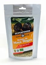 Black Maca Root Organic Powder Energy 200g - $17.81
