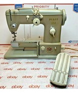 Vintage Germany Pfaff 332 Automatic Dial-A-Stitch Sewing Machine - $309.36