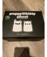 Bimtoy Tiny Ghost Puppy And Kitty OG Rare Sold Out Original Bim Toy - FA... - $59.00